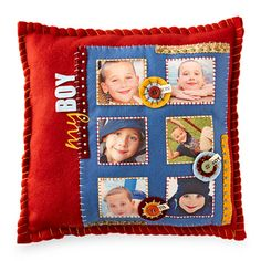 Memory Pillow: @BHG Cute Crafts Projects to Make as Christmas Gifts