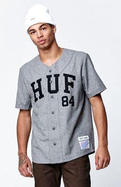HUF Captain s Baseball Jersey at PacSun.com Baseball Jersey Outfit 1c1175547