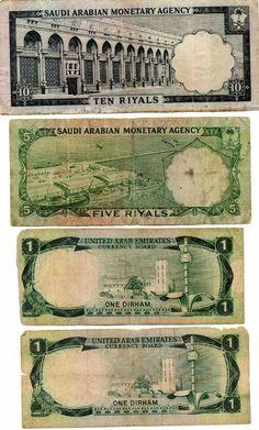 Saudi Arabia currency notes