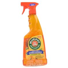 Safely cleans away dust, grease, grime, and wax buildup to reveal wood's natural beauty With natural orange oil to leave a lasting scent of fresh orange Ideal for quick and easy cleaning of-counters,