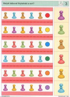 visuele discriminatie voor kleuters / preschool visual discrimination Preschool Games, Montessori Activities, Kindergarten Worksheets, Worksheets For Kids, Thinking Skills, Critical Thinking, Math Patterns, Subtraction Worksheets, Halloween Math