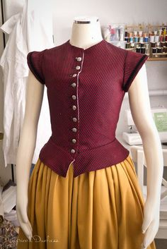 16th century doublet for women