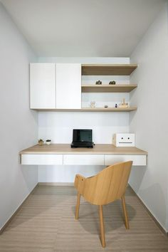 Interior Design Styles Guide is very important for your home. Whether you choose the Modern Home Office Design or Home Office Decor Inspiration, you will make the best Business Office Decorating Ideas for your own life. Study Table Designs, Study Room Design, Small Room Design, Bed Design, Study Nook, Office Nook, Home Office Space, Home Office Desks, Office Decor