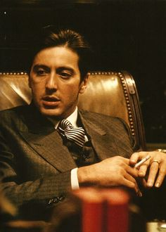 Al Pacino as Michael Corleone in The Godfather Part II One of the best movies ever Al Pacino, Corleone Family, Don Corleone, The Godfather Part Ii, Godfather Movie, Godfather Quotes, Gangster Movies, Photo Star, Films Cinema