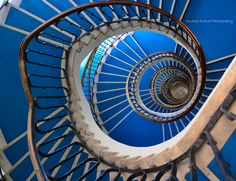 Blue Spiral by Andras Rutnai on 500px