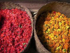 Balinese flower offerings