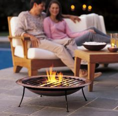 Etonnant Small Portable Fire Pit
