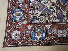 Cross Stitching, Cross Stitch Embroidery, Cross Stitch Patterns, Persian Rug, Bohemian Rug, Pillows, Rugs, Mesas, Dots