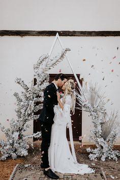 Celestial wedding Sir Botanical and Alannah Liddell