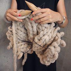 Big knitting needles