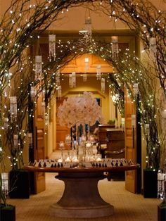 14 wedding ceremonies that will take your breath away belle december wedding venue decor ideas december wedding ceremony decor winter wedding lighting decoration inspiration 2014 valentines day ideas is it a junglespirit Choice Image