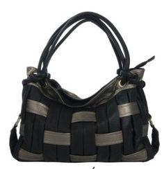 Swiss Strappy Weave Handbag $35.00