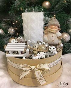 Karácsonyi asztaldísz ❄️