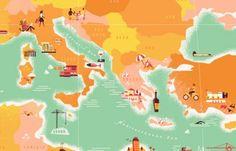 Map by Sarah Labieniec of Lab Partners