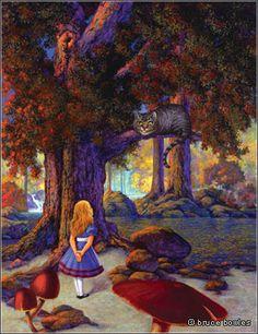 Bruce Victor Bowles | ILLUSTRATION | Alice in Wonderland