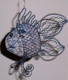 Drátované ryby - Krásně vybarven