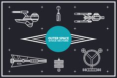 Vectors - Outer Space by Delta available at YouWorkForThem.