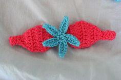 PATTERN Crochet Baby Mermaid Tail with Starfish Top &