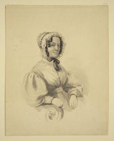 Portrait of Mrs N.C. Branwhite (the artist's mother) Artist:Nathan Branwhite.