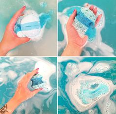 Clairella Daniella: Lush London Oxford Street Exclusive - Frozen Bath Bomb Review and Pictures