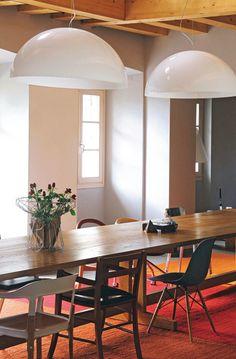 Mismatched Chairs-LOVE! Chez Alberto Alessi dans le Piemont | ATELIER RUE VERTE le blog