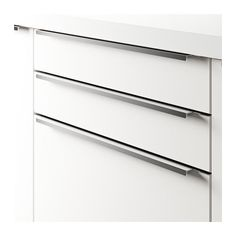 BLANKETT Handle IKEA The clean lines of these handles gives your kitchen a minimalist, modern expression.
