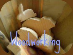 DIY wooden animals