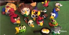 my son vlogs now --> VIDEO: Angry Birds Sculpey Clay Figures