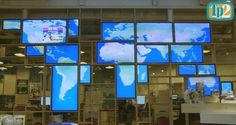 Belgium: ThisPlays2 and YCD Multimedia Run Interactive World Map Shaped Video Wall in Major Travel Agency - Ooh-tv