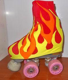 FIRE skate botas cubiertas de patinaje sobre hielo o por Fadmes