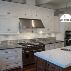 transitional kitchen by Craig Ross