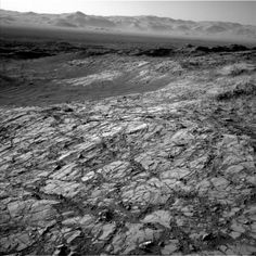 Mars' Gale Crater Image acquired by the Mars Curiosity rover on Friday 6th November 2015, via NASA / JPL / Malin Space Science Systems. Mars Science Laboratory Curiosity.