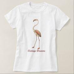 """Vintage Dreams"" - Flamingo T-Shirt Halloween Leggings, Halloween Outfits, Funny Halloween, T Shirts For Women, Mens Tops, Kids, Flamingo, Clothes, Vintage"