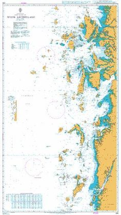 British Admiralty Nautical Chart 216: Myeik Archipelago is a standard nautical chart. This nautical chart complies with Safety of Life at Sea (SOLAS) regulations and is ideal for professional, commerc