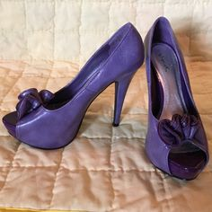 Quipid Purple High heel Color: purple From Charlotte Russe Shoes