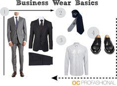 Men's Business Wear Basics