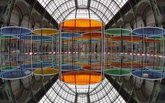 Daniel Buren's Excentrique(s) at the Grand Palais
