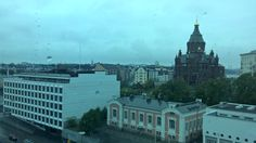 Amazing view from Skywheel, Helsinki