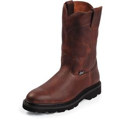 Image for Justin Men's Light-Duty Work Boots from Academy
