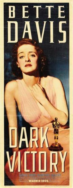 Dark Victory (1939), dir. Edmund Goulding. Starring Bette Davis, George Brent, Geraldine Fitzgerald, Humphrey Bogart.
