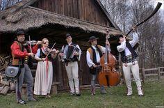 Folk costume from Beskid Żywiecki (Żywiec Beskids), Poland.