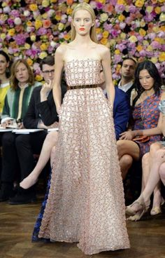 debut of Christian Dior designer Raf Simmons at the Paris Haute Couture Autumn/Winter 2012 - image - Fashion Galleries - Telegraph