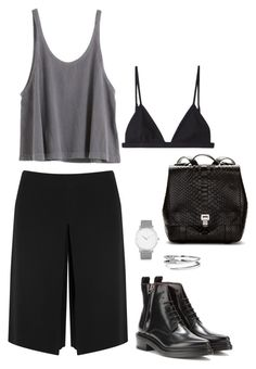 """""""386"""" by celiafriebe ❤ liked on Polyvore featuring philosophy, Acne Studios, T By Alexander Wang, Larsson & Jennings, Proenza Schouler and C. Wonder"""