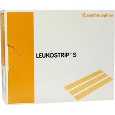 LEUKOSTRIP S Wundnahtstreifen 4x38 mm:   Packungsinhalt: 50X4 St Pflaster PZN: 08828253 Hersteller: Smith & Nephew GmbH Preis: 75,99 EUR…
