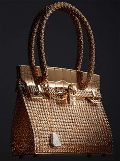 Hermès Haute Bijouterie Collection by Pierre Hardy - Birkin: Sac bijou in rose and white gold with 2,712 diamonds (total carat weight: 89.22)
