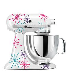 Another great find on Green & Turquoise Vinyl Sprinkles KitchenAid Mixer Decal Set by