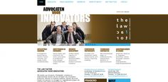 Communication strategy and website design The Law Factor (with DeltaZuid)