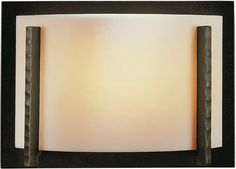 Hubbardton Forge 206740 Single Light 100 Watt Direct Wire Wall Sconce from the F