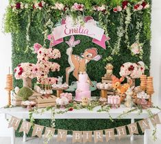 The Greatest Bambi Themed Baby Shower Ideas (New Update!) The Greatest Bambi Themed Baby Shower Ideas (New Update! Baby Shower Themes, Baby Shower Decorations, Baby Shower Parties, Shower Ideas, Themed Baby Showers, Disney Baby Showers, 1st Birthday Party For Girls, 1st Birthday Themes, Birthday Ideas