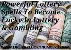 When we cast these powerful lottery spells for you, we shall use ingredients that can appease the goddess of luck so that she can smile at you. The spells will work to draw luck on your side and put you on the winning side of each game.